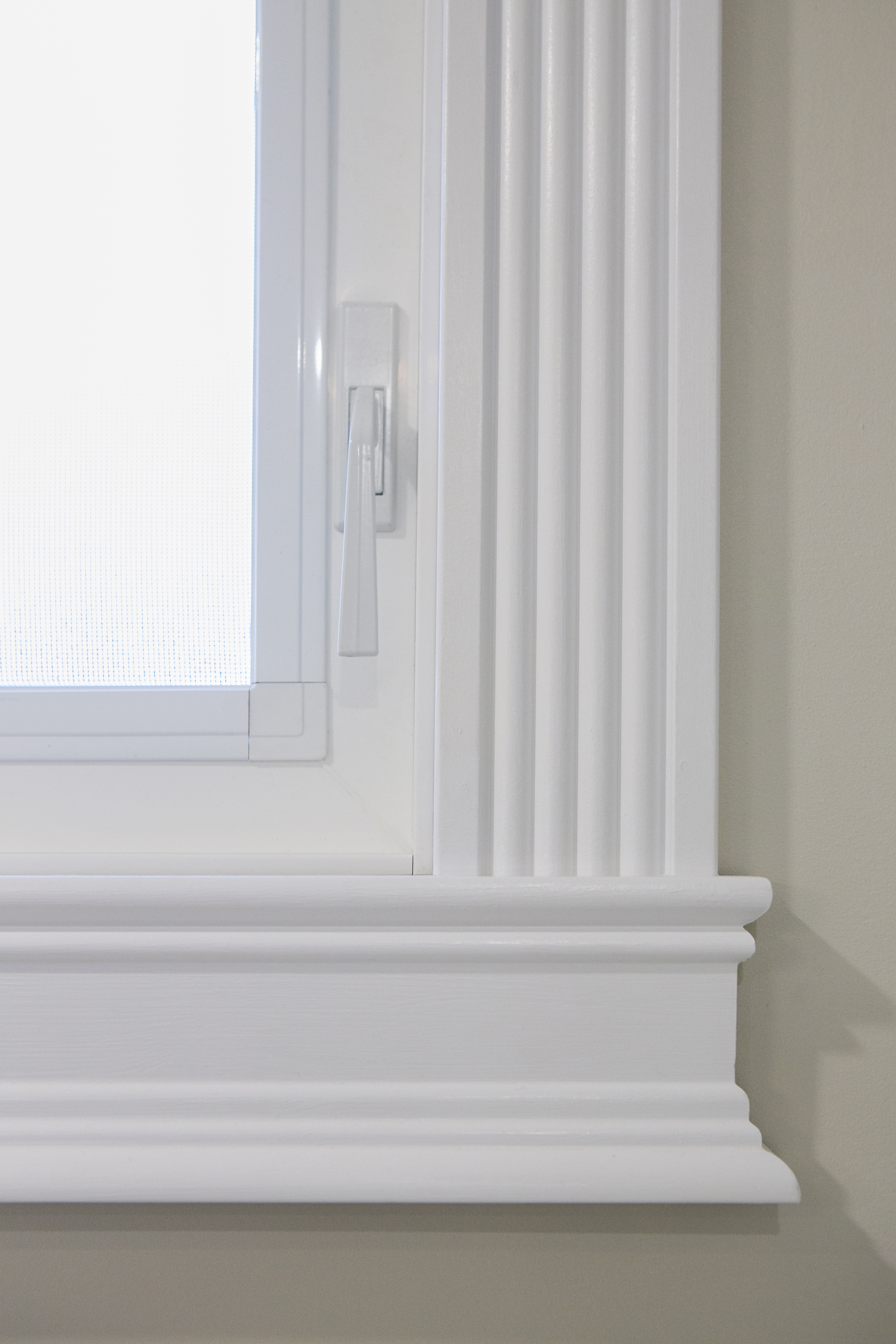 Doors, moldings, and finish carpentry